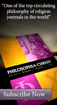 Subscribe to Philosophia Christi - Click here.